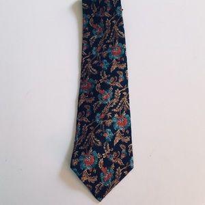 Authentic Burberry Silk Tie